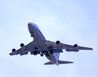 Jumbo Jet on take off