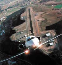 Business Jet Take Off